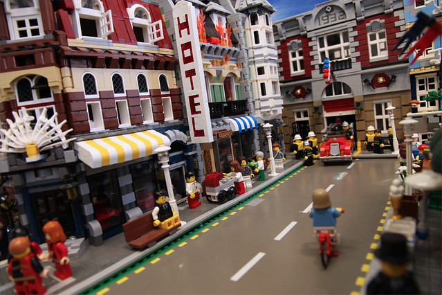 Lego City Biker