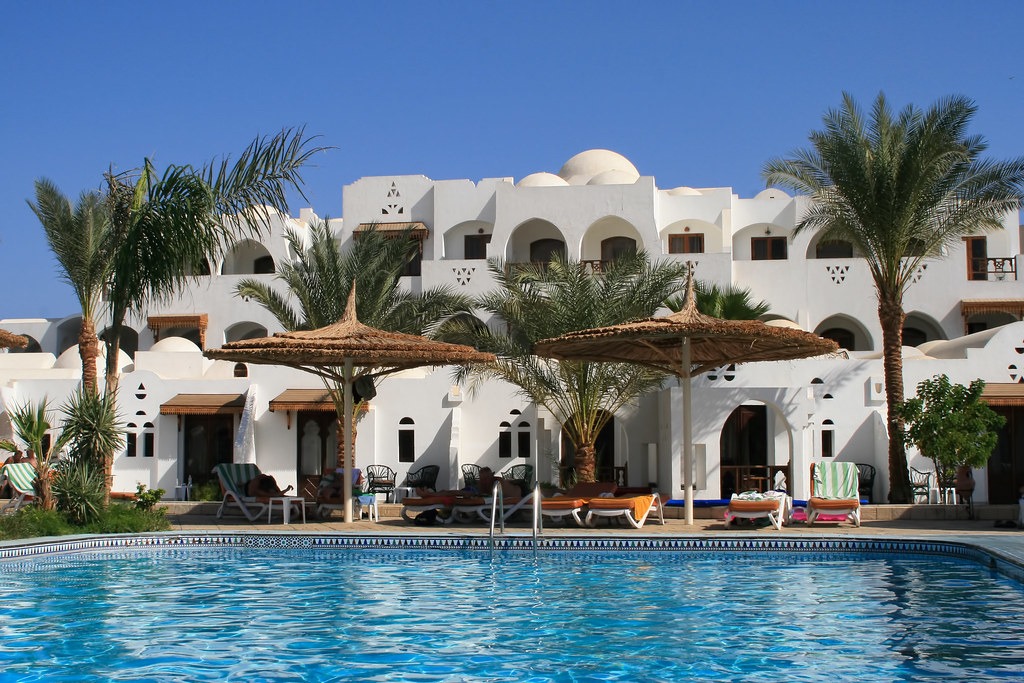 Poolside, Sharm El Sheikh, Egypt