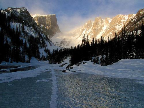 morning light usa mountain beautiful frozen rmnp magnificent alpenglow continentaldivide flattopmountain dreamlake hallettpeak sooc tyndallglacier tyndallgorge