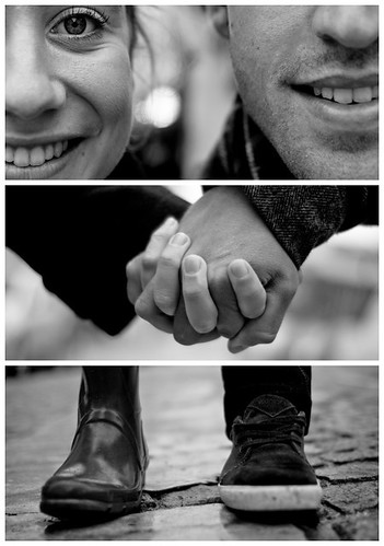 Triptychs of Strangers #4: The Couple I, Montmartre - Paris