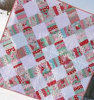 Liberated Wedding Ring Quilt