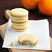 Biscotti al burro salato e arancia con crema di pistacchi di Bronte by fiordifrolla