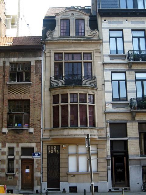 Architectenwoning georges hob elsene in 1913 ontwierp ar flickr photo sharing - Decoratie van trappenhuis ...