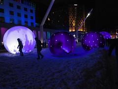 Sphères polaires, Place des festivals