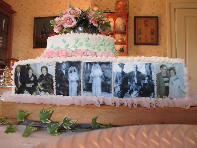 Cake Decorating Ideas For A 90 Year Old : 3306 Kathleens Moms 90th Birthday Cake Flickr - Photo ...