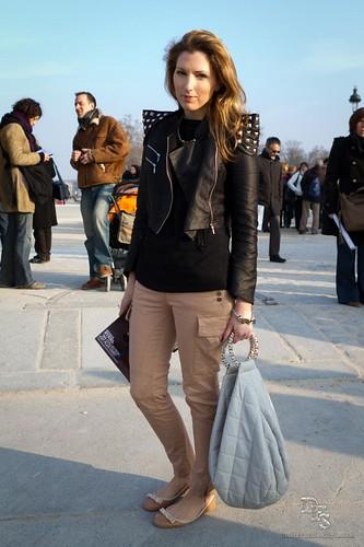 Street Style @ Sonia Rykiel - Paris Fashion