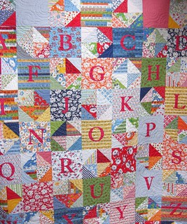 Quilt from my lovely friend Katy