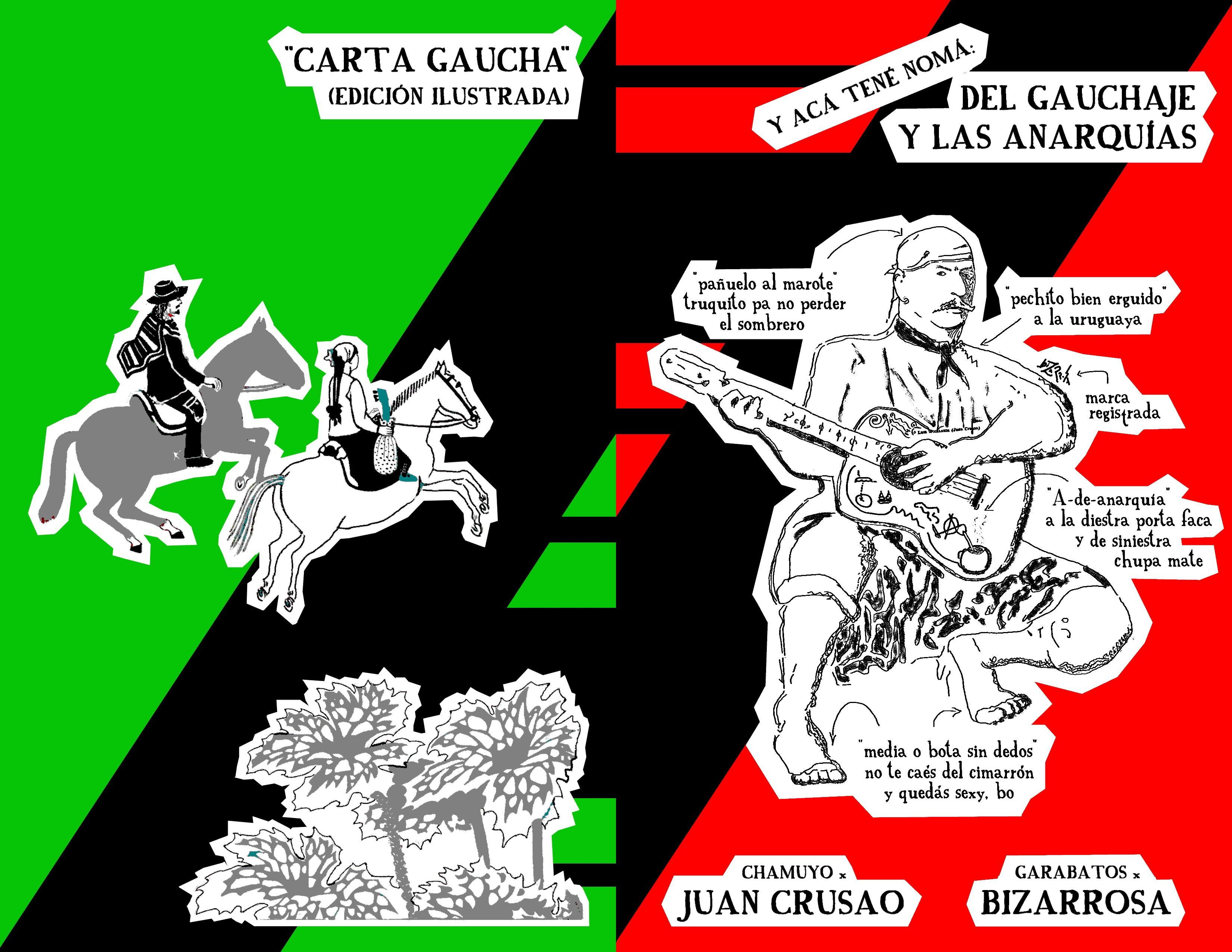 CARTA GAUCHA (ilustrated)