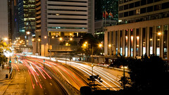 Central Night Traffic