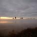Foggy Sunrise by Bruce Bordelon