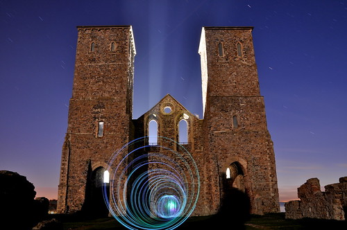 Reculver Towers - Tunnel Vision