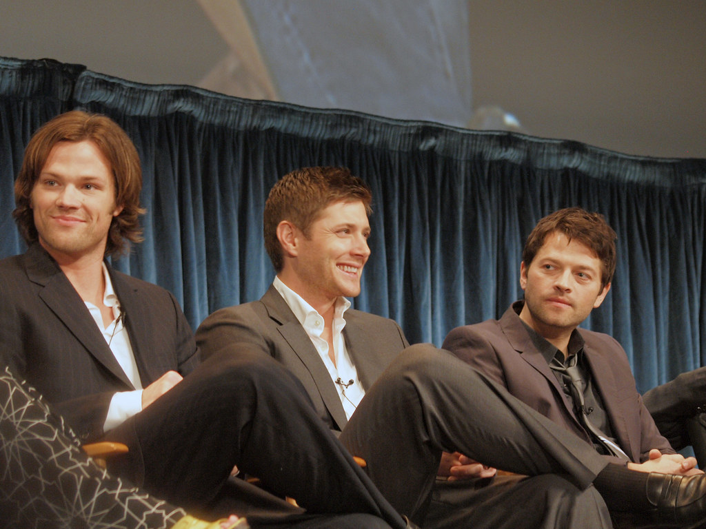 Jensen Ackles, Jared Padalecki & Misha Collins PaleyFest ...