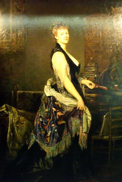 Edouard Blanchard, La duchesse de Castiglione Colonna