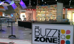 CTIA's Buzz Zone is set for tomorrow's interviews with people from the wireless industry