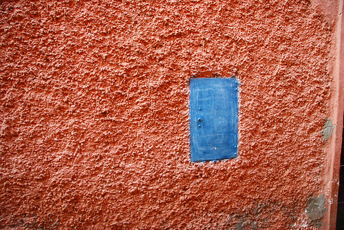 wall in Marrakech