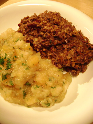 SC Haggis + Not Quite Neeps and Tatties
