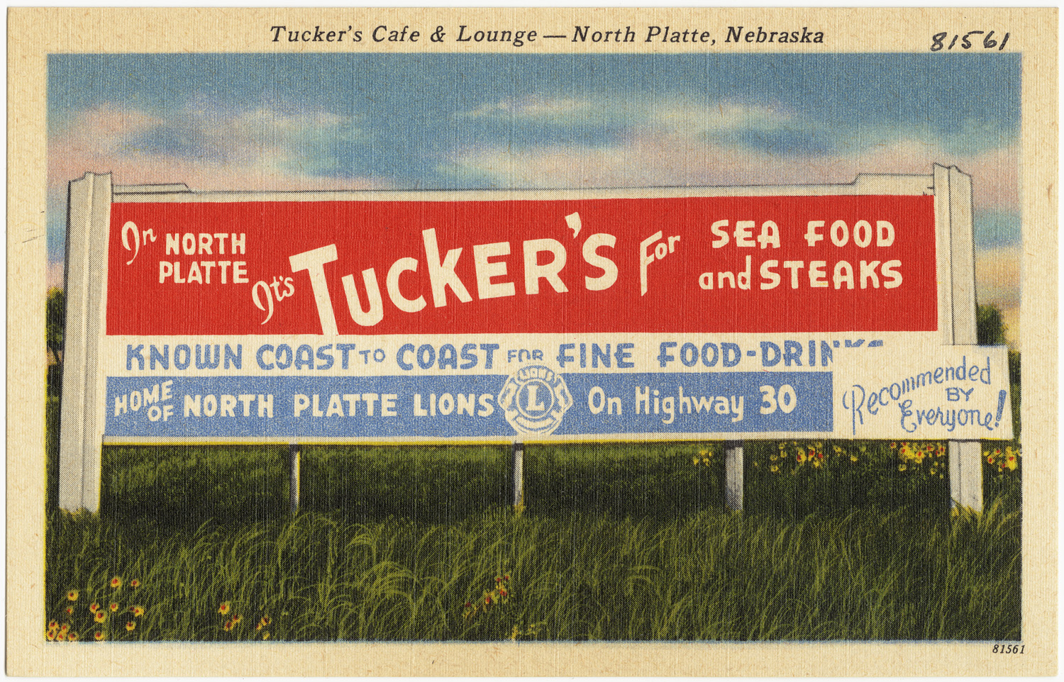 Tucker s Café & Lounge North Platte Nebraska
