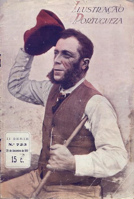 Ilustração Portugueza, Nº 723, Dezembro 29 1919 - capa