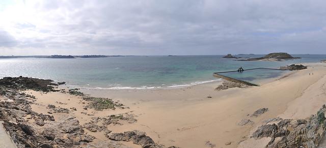 Panoramic Saint Malo Beach