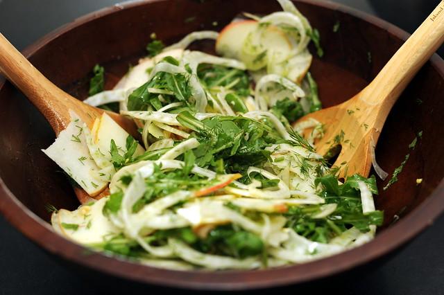 Fennel Apple Salad   Flickr - Photo Sharing!