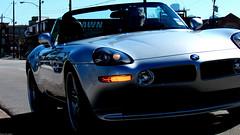 bmw m roadster(0.0), bmw z3(0.0), automobile(1.0), automotive exterior(1.0), bmw(1.0), wheel(1.0), vehicle(1.0), performance car(1.0), automotive design(1.0), bmw z8(1.0), bumper(1.0), personal luxury car(1.0), land vehicle(1.0), luxury vehicle(1.0), convertible(1.0), sports car(1.0),