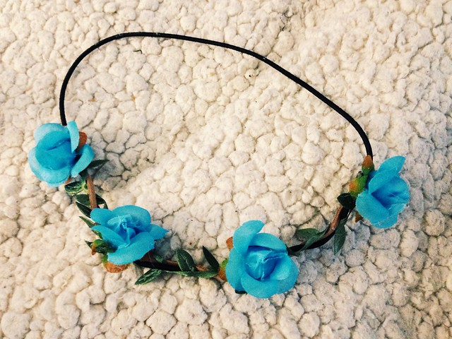 love culture flower headband