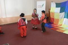 Parte de nuestros talleres multiculturales; Danza andina