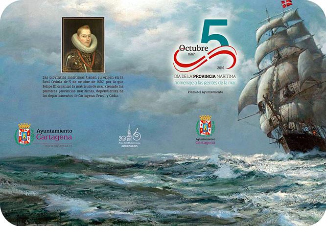 Cartagena reconoce esta tarde la labor de los Hombres de la Mar