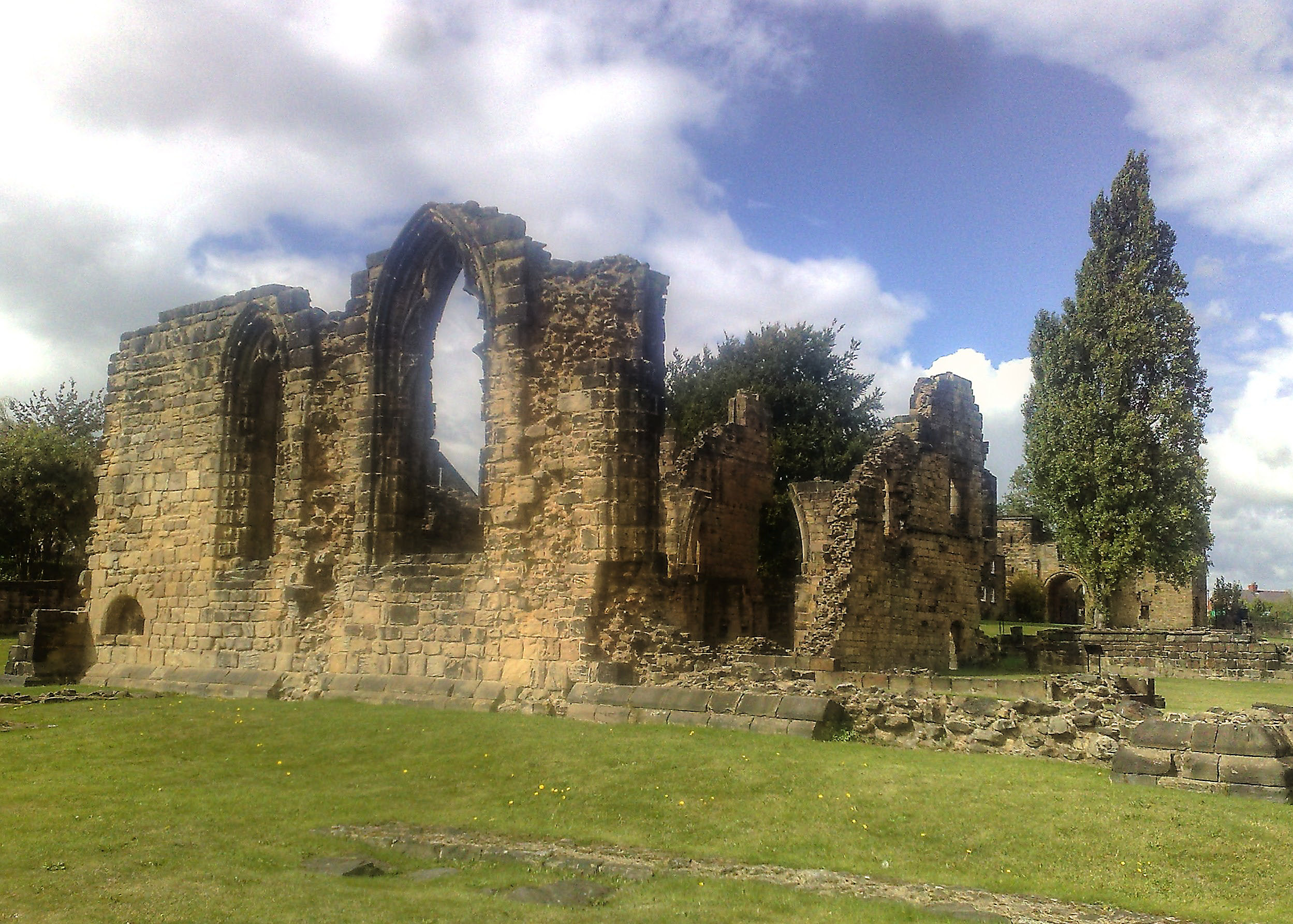 Pontefract United Kingdom  City pictures : pontefract priory pontefract priory was a cluniac monastery dedicated ...