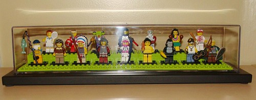 LEGO Collectible Minifigures Series 3 in Display Case