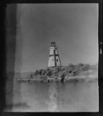 West Quoddy Replica Lighthouse, Lake Havasu City, Arizona, USA