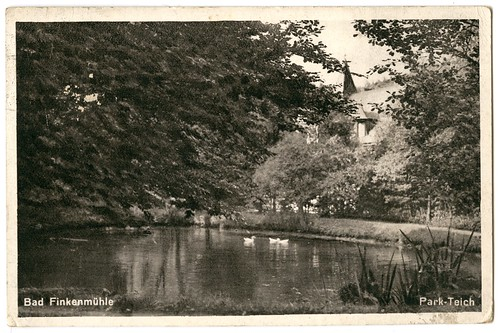 Bad Finkenmühle – Park-Teich