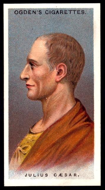 Cigarette Card - Julius Caesar