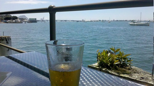 Birthday beer @ Harbourside