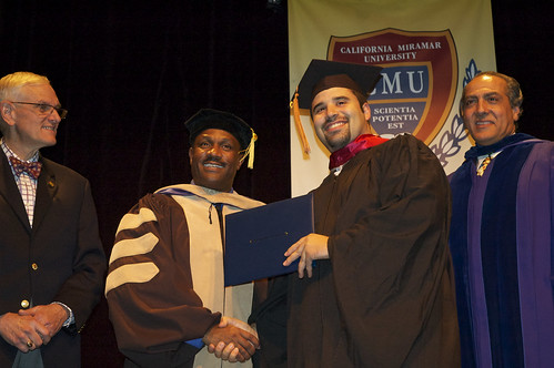Master of Business Administration Graduation San Diego, California