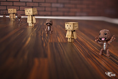 Tilt-Shift-alicious Danboard Sack Boy 38/365