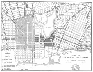 Area in Vicinity of Civic Center (1946)