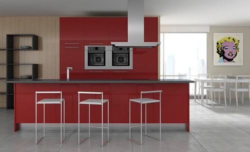 El taburete ideal para tu cocina americana de for Muebles de cocina americana modernos