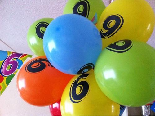 Ballontoef Verjaardag Cleo 6 Jaar Spijkenisse