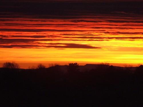 winter sunsetwinterhorizon
