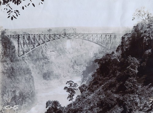 Zambessi Bridge.1905 by Claire Stocker (Stocker Images)