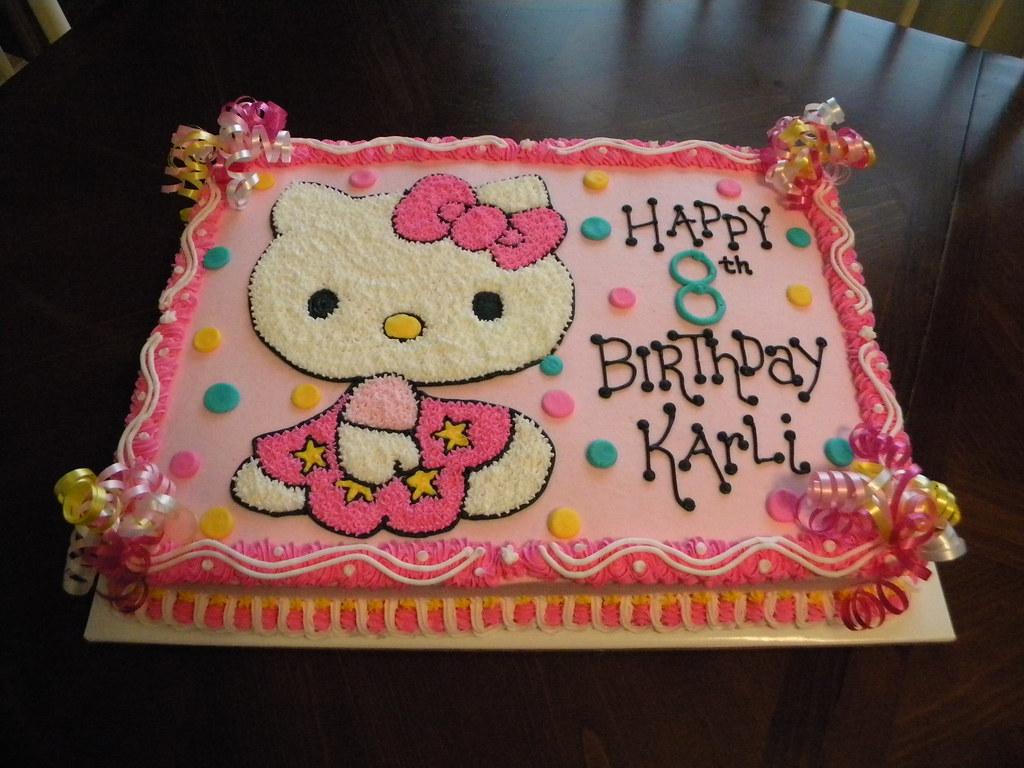 Hello Kitty Birthday Cake A Photo On Flickriver