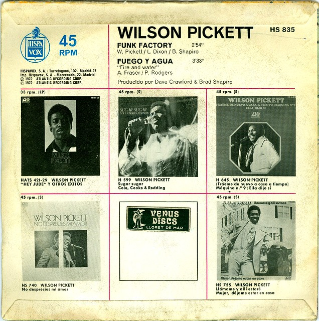 pickett singles In 1955, pickett moved to detroit with his father to escape his violent mother, whom his father had divorced it was there that pickett began his music career, singing with a gospel quartet called the violinaires, with whom he recorded a few singles for chicago's chess records, and touring with many gospel stars.