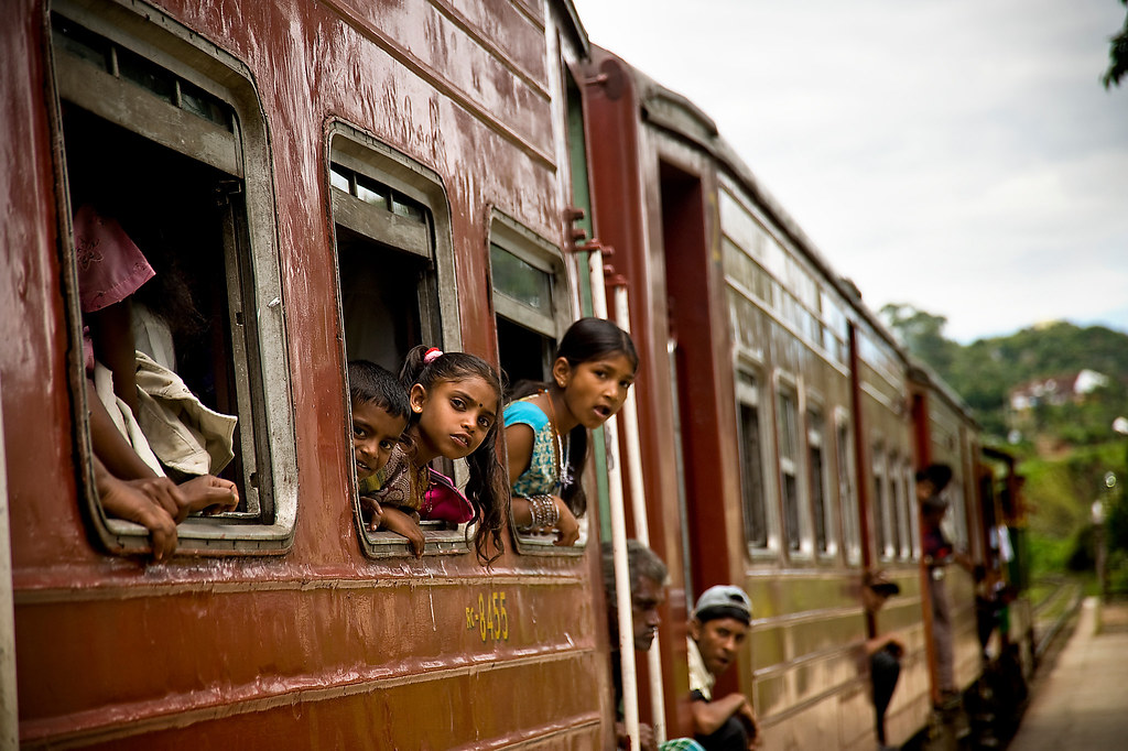 Sri Lanka - Train Ride