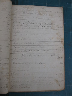 Robert G. McEwen Saddler's Account Book, 1829-1833