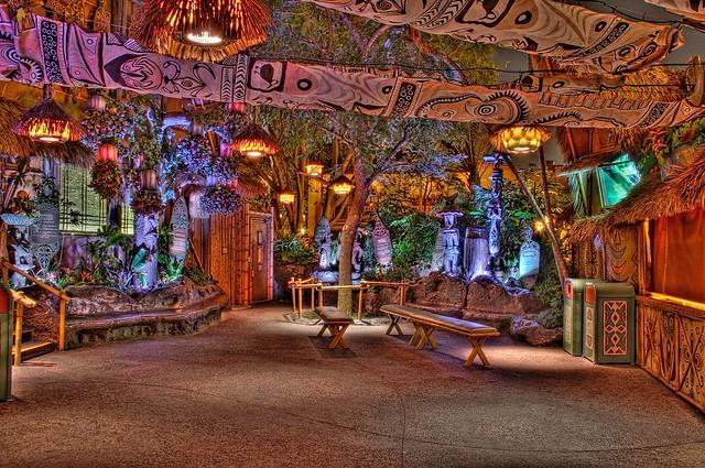 Enchanted Tiki Room Decor