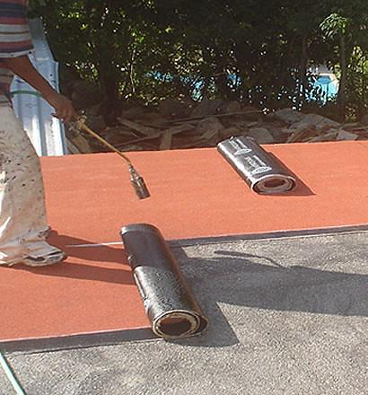 La tela asfaltica como impermeabilizante para techos - Impermeabilizantes para terrazas ...