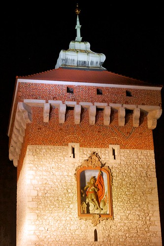St. Florian's Gate in Krakow, Poland