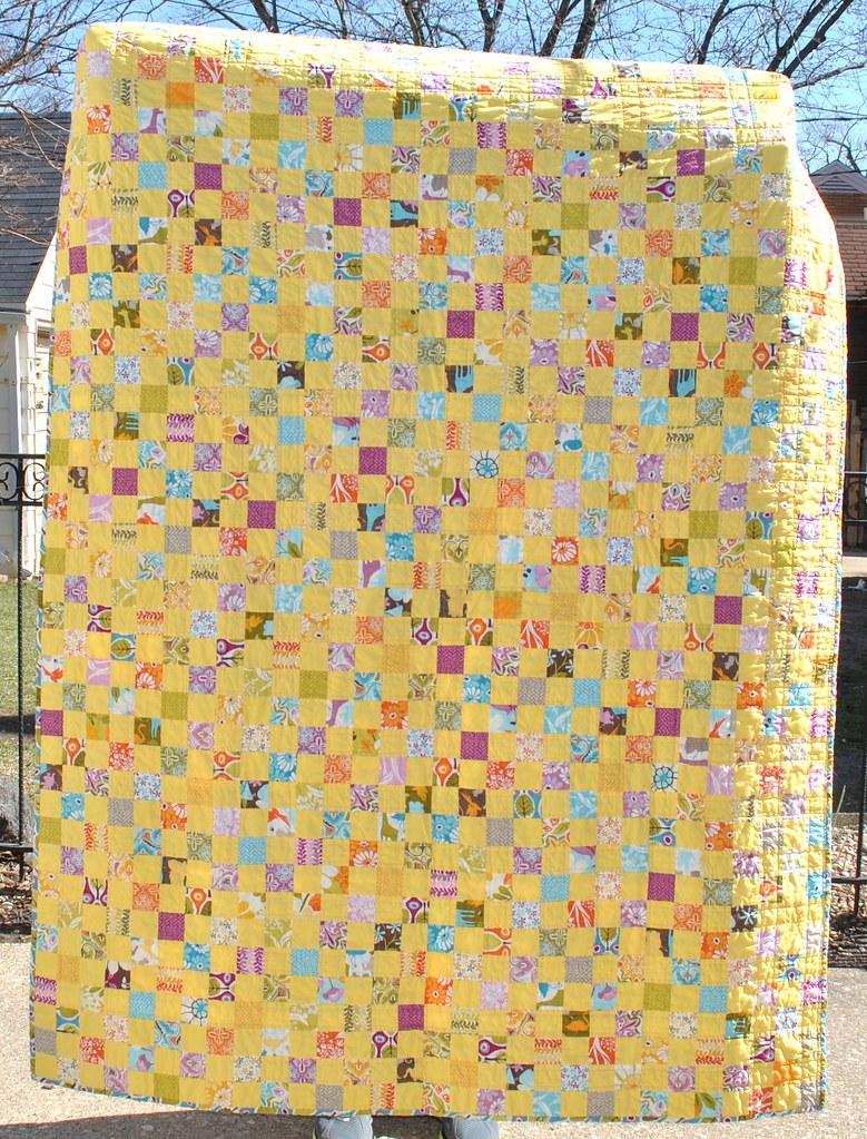 Central Park quilt front