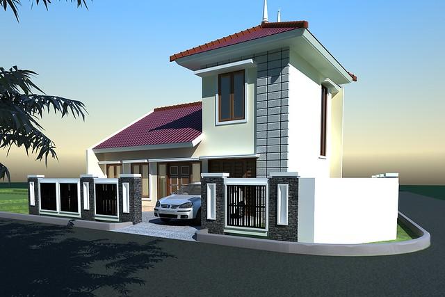 Design eksterior interior rumah minimalis contoh desain for Design interior modern minimalis